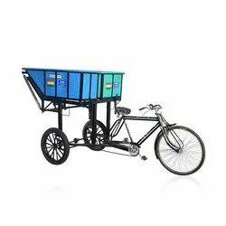 Double Pot Rickshaw Bin