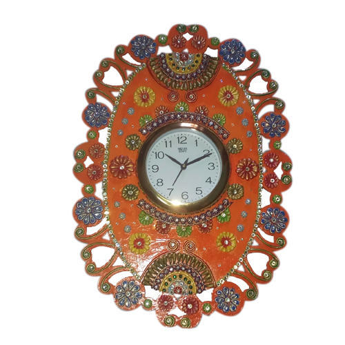Decorative Paper Mache Wall Clock At Rs 40 Piece Paper Mache Impressive Decorative Paper Mache Boxes