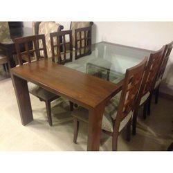 Modern Wooden Dinning Table Set