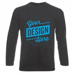 Custom Round Neck T Shirt