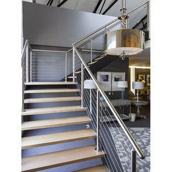 SS Panel , Cable Staircase Railing