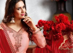Mrigni-5 Series 1001-1008 Stylish Party Wear Satin Georgette Suit