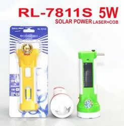 RL-7811S Rock Light Rechargeable Solar Torch
