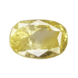 SI Clarity Natural Ceylon Yellow Sapphire
