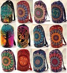 Indian Mandala Backpack Bag