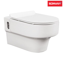 White Somany Nice - Wall Hung Toilet
