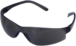 Black Clear Goggles