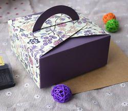Handle Cake Box