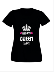 Fashion Queen Half Sleeves T-Shirt