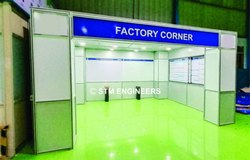 Factory Corner Exhibition Booth