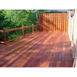 Brown Deck Wooden Flooring