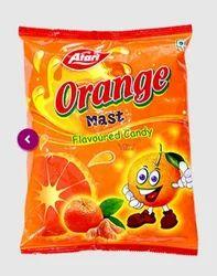 Formed Orange Candy