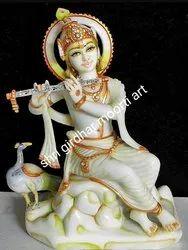 Krishna Ji Marble Moorti