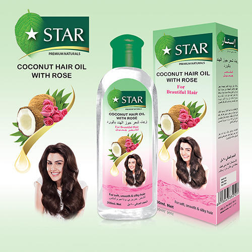 Coconut Rose Hair Oil | Vasa Cosmetics Private Limited