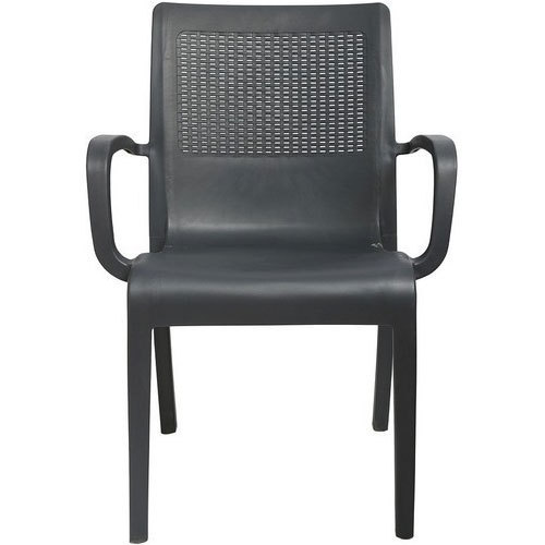 Black Standard Cello Elegant Chair, For Indoor And Outdoor