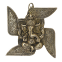 Collectible Swastik Ganesh Wall Hanigng Handicrafts