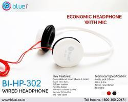 ECONOMIC HEADPHONE WITH MIC BI-HP-302