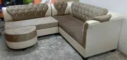 D Full Cushion Sofa L Type for Home