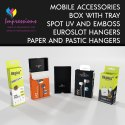 Earphone Packaging Boxes with inner Tray