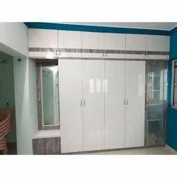 PVC Laminate Wardrobe, For Home