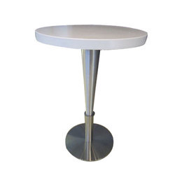 Stainless Steel Standing Dining Table