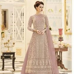 Georgette Heavy Embroidered Salwar Suit
