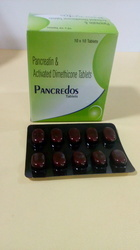 Pancreatin Activated Dimethicone Tablets