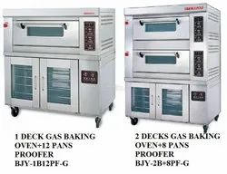 Berjaya Gas Deck Oven With Stone & Proover
