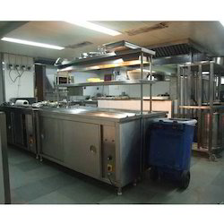 Pick Up Commercial Kitchen Counter
