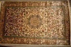 Rectangular Silk Carpets for Hotel