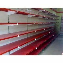 Wooden Supermarket Rack