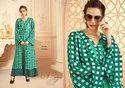 Aaina -Shubh NX Heavy Maslin  Digital Printed Long Beautiful Designer Kurtis