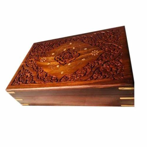 Wooden Jewelry Storage Box