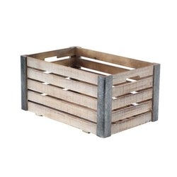 Rectangular Wooden Pallet Box