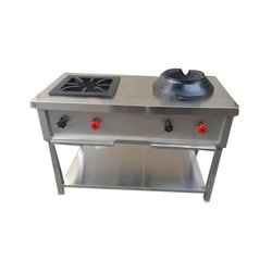 Two Burner Indochinese Cooking Range