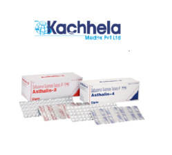 Asthalin Sa 4mg Tablet