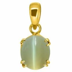 Cats Eye Stone Pendant Asthdhatu Gemstone