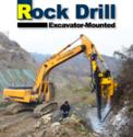 Hydraulic Crawler Rock Drill Excavator