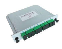 Optical Fiber Splitter PLC Insert Type 1X8