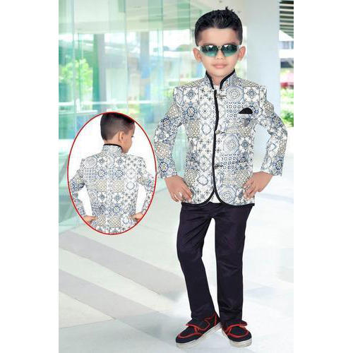 34781e0c5 Kids Printed Blazer Set
