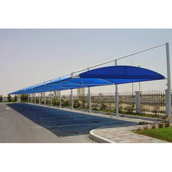 Tensile Car Parking Cantilever Structure