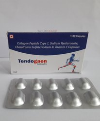 Collagen peptide type1 40 mg, sod.Hyaluronate 30 mg, Chondroition Sul. 200 mg & Vit.c 35 mg)