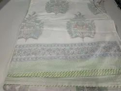 Block Printed Cotton Dohar