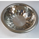 Stainless Steel Diamond Bowl For Home, Shape: Round