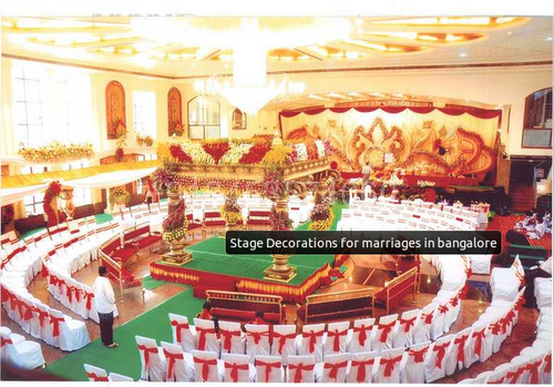 Flower Stage Decorators For Marriages In Bengaluru Weddings