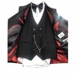 Party Imported 5 Piece Mens Designer Cotton Suit, Size/Dimension: 40 Inch