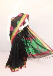 Chenderi Handloom Sarees, Length: 6.3 m