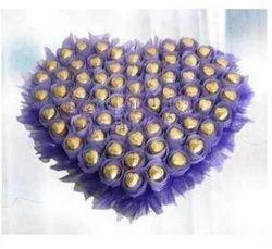 Golden Heart Of Chocolate
