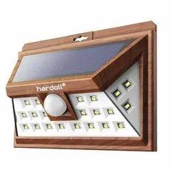 Solar Wall Light with Motion Sensor Outdoor Lighting