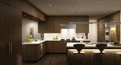 3D Rendering For Kitchen